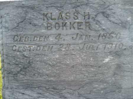 BOKKER, DINA (CLOSE UP) - Minnehaha County, South Dakota   DINA (CLOSE UP) BOKKER - South Dakota Gravestone Photos