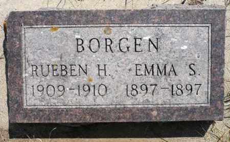 BORGEN, RUEBEN H. - Minnehaha County, South Dakota | RUEBEN H. BORGEN - South Dakota Gravestone Photos