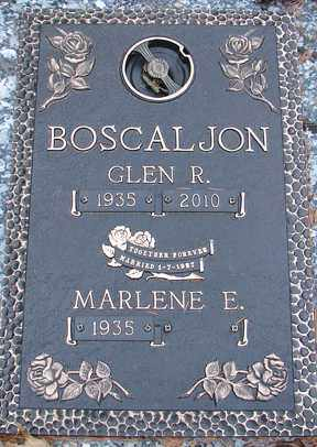 BAKER BOSCALJON, MARLENE E. - Minnehaha County, South Dakota | MARLENE E. BAKER BOSCALJON - South Dakota Gravestone Photos