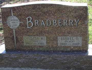 ZOCHERT BRADBERRY, ISABEL  D. - Minnehaha County, South Dakota | ISABEL  D. ZOCHERT BRADBERRY - South Dakota Gravestone Photos