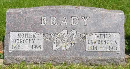 BRADY, DOROTHY E. - Minnehaha County, South Dakota   DOROTHY E. BRADY - South Dakota Gravestone Photos