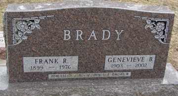 BRADY, FRANK  R. - Minnehaha County, South Dakota   FRANK  R. BRADY - South Dakota Gravestone Photos