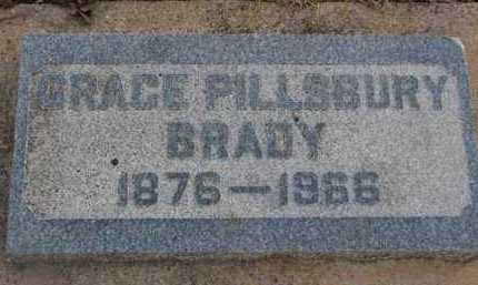 BRADY, GRACE - Minnehaha County, South Dakota | GRACE BRADY - South Dakota Gravestone Photos