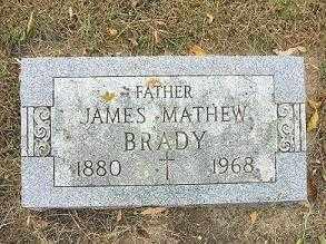 BRADY, JAMES MATHEW - Minnehaha County, South Dakota | JAMES MATHEW BRADY - South Dakota Gravestone Photos
