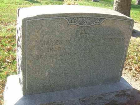BRADY, JAMES W. - Minnehaha County, South Dakota | JAMES W. BRADY - South Dakota Gravestone Photos