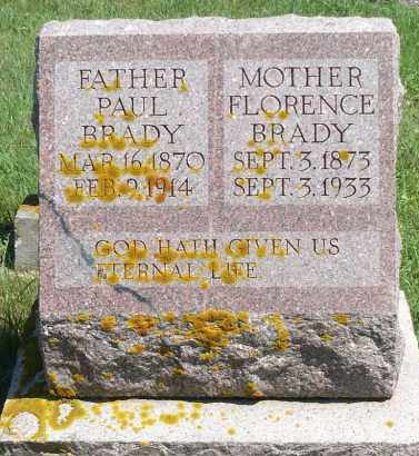 BRADY, PAUL - Minnehaha County, South Dakota | PAUL BRADY - South Dakota Gravestone Photos