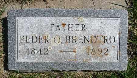 BRENDTRO, PEDER O. - Minnehaha County, South Dakota   PEDER O. BRENDTRO - South Dakota Gravestone Photos