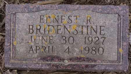 BRIDENSTINE, ERNEST R - Minnehaha County, South Dakota | ERNEST R BRIDENSTINE - South Dakota Gravestone Photos