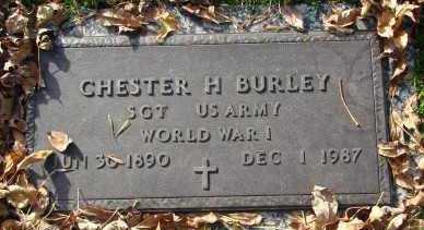 BURLEY, CHESTER H. - Minnehaha County, South Dakota   CHESTER H. BURLEY - South Dakota Gravestone Photos
