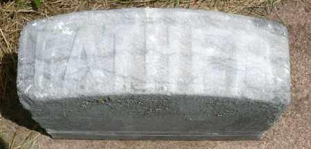 BURLINGAME, GEORGE E. (FOOTSTONE) - Minnehaha County, South Dakota   GEORGE E. (FOOTSTONE) BURLINGAME - South Dakota Gravestone Photos