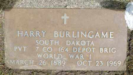 BURLINGAME, HARRY (WWII) - Minnehaha County, South Dakota | HARRY (WWII) BURLINGAME - South Dakota Gravestone Photos