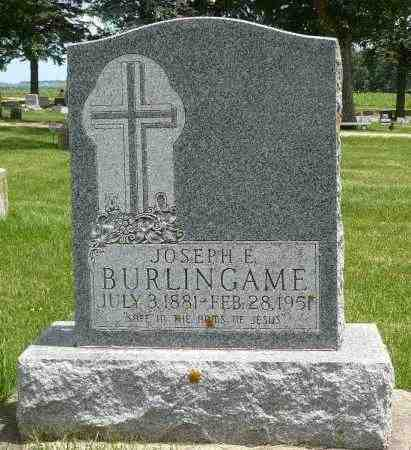 BURLINGAME, JOSEPH - Minnehaha County, South Dakota   JOSEPH BURLINGAME - South Dakota Gravestone Photos