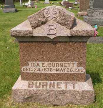 BURNETT, IDA E. - Minnehaha County, South Dakota | IDA E. BURNETT - South Dakota Gravestone Photos