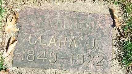 BURNEY, CLARA J. - Minnehaha County, South Dakota | CLARA J. BURNEY - South Dakota Gravestone Photos