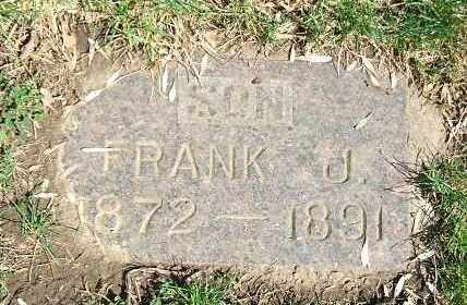 BURNEY, FRANK J. - Minnehaha County, South Dakota | FRANK J. BURNEY - South Dakota Gravestone Photos