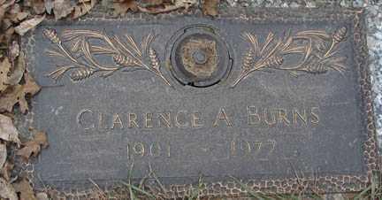 BURNS, CLARENCE A. - Minnehaha County, South Dakota | CLARENCE A. BURNS - South Dakota Gravestone Photos
