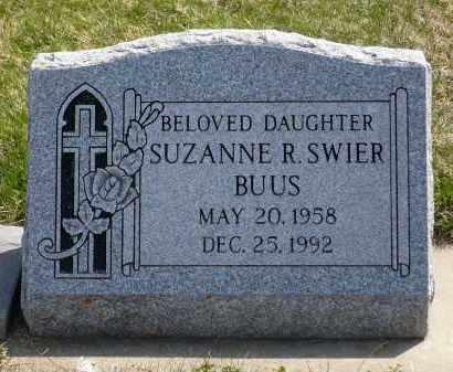 BUUS, SUZANNE R. - Minnehaha County, South Dakota   SUZANNE R. BUUS - South Dakota Gravestone Photos