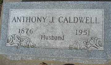 CALDWELL, ANTHONY J. - Minnehaha County, South Dakota | ANTHONY J. CALDWELL - South Dakota Gravestone Photos