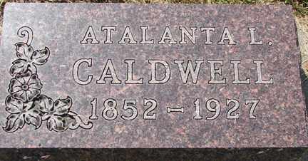 CALDWELL, ATALANTA L. - Minnehaha County, South Dakota | ATALANTA L. CALDWELL - South Dakota Gravestone Photos