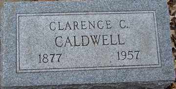 CALDWELL, CLARENCE C. - Minnehaha County, South Dakota   CLARENCE C. CALDWELL - South Dakota Gravestone Photos