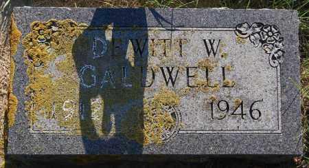 CALDWELL, DEWITT W. - Minnehaha County, South Dakota | DEWITT W. CALDWELL - South Dakota Gravestone Photos