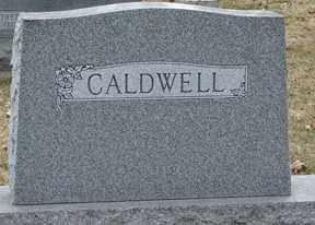CALDWELL, FAMILY MARKER - Minnehaha County, South Dakota | FAMILY MARKER CALDWELL - South Dakota Gravestone Photos