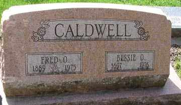 CALDWELL, FRED O. - Minnehaha County, South Dakota | FRED O. CALDWELL - South Dakota Gravestone Photos