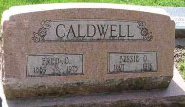 CALDWELL, BESSIE O. - Minnehaha County, South Dakota | BESSIE O. CALDWELL - South Dakota Gravestone Photos