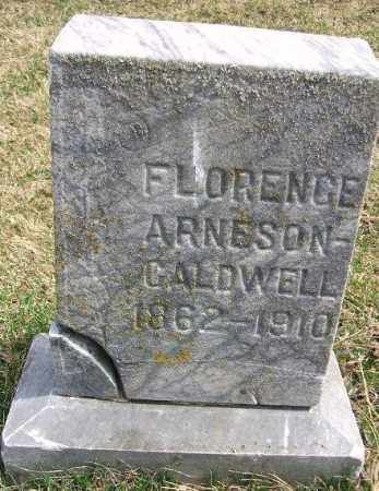CALDWELL, FLORENCE - Minnehaha County, South Dakota | FLORENCE CALDWELL - South Dakota Gravestone Photos
