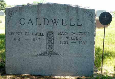 CALDWELL, GEORGE - Minnehaha County, South Dakota | GEORGE CALDWELL - South Dakota Gravestone Photos