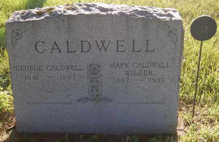 CALDWELL, GEORGE - Minnehaha County, South Dakota | GEORGE CALDWELL - South Dakota Gravestone Photos