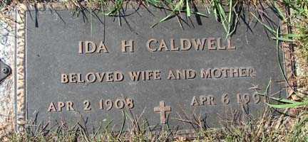 CALDWELL, IDA H. - Minnehaha County, South Dakota   IDA H. CALDWELL - South Dakota Gravestone Photos