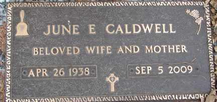 MEDBIUS CALDWELL, JUNE E. - Minnehaha County, South Dakota | JUNE E. MEDBIUS CALDWELL - South Dakota Gravestone Photos
