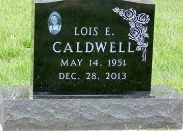 CALDWELL, LOIS ELAINE - Minnehaha County, South Dakota | LOIS ELAINE CALDWELL - South Dakota Gravestone Photos