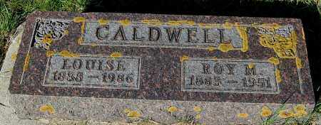 CALDWELL, LOUISE - Minnehaha County, South Dakota | LOUISE CALDWELL - South Dakota Gravestone Photos