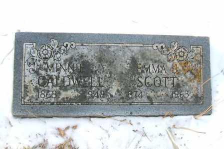 CALDWELL, MINNIE L. - Minnehaha County, South Dakota | MINNIE L. CALDWELL - South Dakota Gravestone Photos