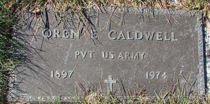 CALDWELL, OREN E. - Minnehaha County, South Dakota   OREN E. CALDWELL - South Dakota Gravestone Photos