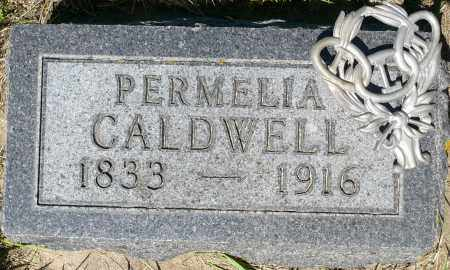 CALDWELL, PERMELIA - Minnehaha County, South Dakota | PERMELIA CALDWELL - South Dakota Gravestone Photos