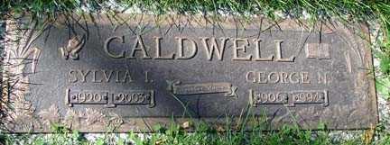 CALDWELL, SYLVIA I. - Minnehaha County, South Dakota | SYLVIA I. CALDWELL - South Dakota Gravestone Photos