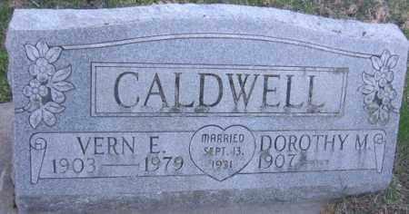 CALDWELL, VERN E. - Minnehaha County, South Dakota | VERN E. CALDWELL - South Dakota Gravestone Photos