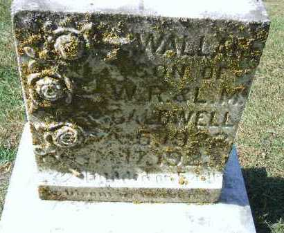 CALDWELL, WALLACE - Minnehaha County, South Dakota | WALLACE CALDWELL - South Dakota Gravestone Photos