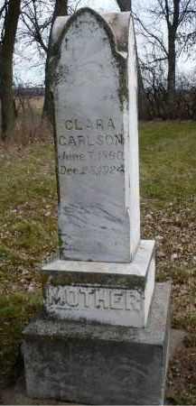 JOHNSON CARLSON, CLARA - Minnehaha County, South Dakota | CLARA JOHNSON CARLSON - South Dakota Gravestone Photos