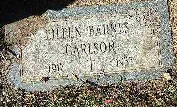 BARNES CARLSON, EILEEN - Minnehaha County, South Dakota | EILEEN BARNES CARLSON - South Dakota Gravestone Photos