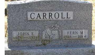 GEHARKE CARROLL, FERN M. - Minnehaha County, South Dakota | FERN M. GEHARKE CARROLL - South Dakota Gravestone Photos
