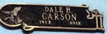 CARSON, DALE H. - Minnehaha County, South Dakota | DALE H. CARSON - South Dakota Gravestone Photos