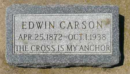 CARSON, EDWIN - Minnehaha County, South Dakota | EDWIN CARSON - South Dakota Gravestone Photos