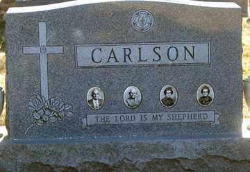 CARSON, FAMILY MARKER - Minnehaha County, South Dakota   FAMILY MARKER CARSON - South Dakota Gravestone Photos