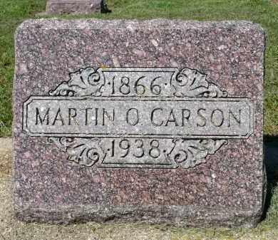 CARSON, MARTIN O. - Minnehaha County, South Dakota | MARTIN O. CARSON - South Dakota Gravestone Photos