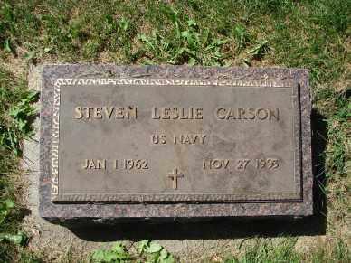 CARSON, STEVEN LESLIE - Minnehaha County, South Dakota | STEVEN LESLIE CARSON - South Dakota Gravestone Photos