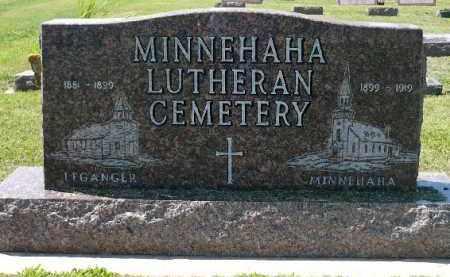 *CEMETERY, MINNEHAHA LUTHERAN - Minnehaha County, South Dakota | MINNEHAHA LUTHERAN *CEMETERY - South Dakota Gravestone Photos